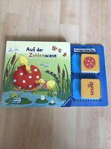 """Buch mit Zahlen Memory Lern-Spaß-Spiel  """"Auf der Zahlenwiese"""" von RAVENSBURGER"""