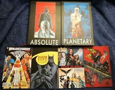 Absolute Planetary HC 1 + 2 (Both First Print) + Planetary/Batman/JLA/Authority