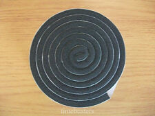 1m Black Single Sided Foam Tape Closed Cell 20mm Wide x 6mm Thick