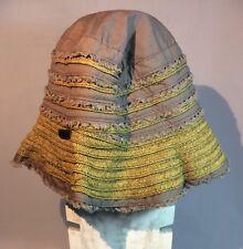 Columbia Womans Hat Cap Mustard Yellow Beige Small