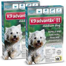 K9 Advantix II for Medium Dog 11-20 lbs - 12 Pack (US EPA Approved)