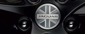 Jaguar T2R5513 Wheel Center Cap Union Jack Logo Sold Each
