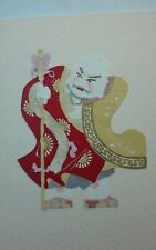 Vintage Chinese Paper Cuts Artwork Art Handpainted
