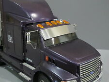 New Aluminum Sun Visor Block Plate for Tamiya RC 1/14 Ford Aeromax Semi Truck
