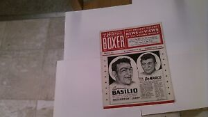 Vintage Summer 1956 The Veteran Boxer Magazine Carmen Basilio Nice Bright
