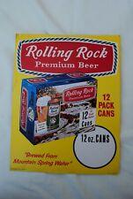 VINTAGE ROLLING ROCK BEER ADVERTISEMENT