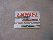 1953 LIONEL TRAIN CONSUMER  CATALOG NEAR MINT CONDITION
