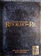 Il Signore degli anelli IL RITORNO DEL RE cofanetto box 4 DVD Extended