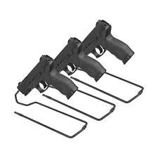 Gun Accessories Stand Style Vinyl Coated Metal Handgun Pistol Rack Comfortable