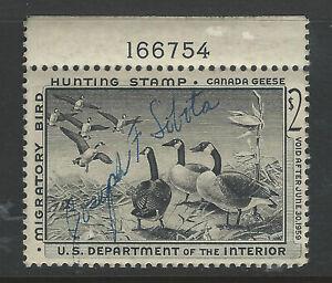 Bigjake: RW25 - $2.00 Canada Geese - 1958 Federal Duck Stamp