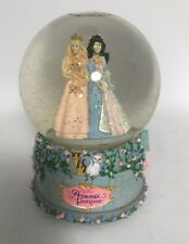 Barbie Princess And The Pauper Musical Snowglobe Snow Globe Mattel 2004