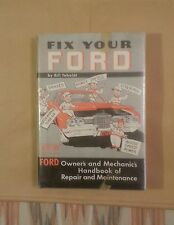 VTG AUTO MANUAL☆*FIX YOUR FORD*☆HC 1971 V 8'S & 6'S 54-71