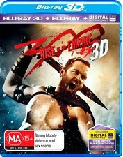 300 - Rise Of An Empire 3D : NEW 3-D Blu-Ray + 2D Blu-Ray