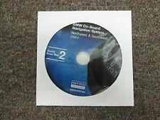 2006.2 BMW a Bordo Sistema di Navigazione Northwest & Southwest CD DVD Roadmap