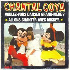 """CHANTAL GOYA Vinyle 45T SP 7"""" VOULEZ VOUS DANSER GRAND MERE ? MICKEY - RCA 8149"""