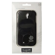 Bugatti Clip-On Cover 08224 für Samsung I9505 Galaxy S4, schwarz