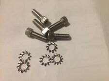 "5 Pistol Grip 3/4"" Stainless Socket Screw, Washer & 1 Wrench. Anderson"
