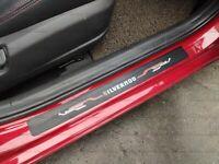 For Chevrolet Silverado Car Accessories Door Sill Cover Sticker Protector 2020