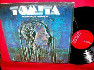 TOMITA Pictures at an exhibition LP 1975 USA EX+ PROG AVANTGARDE Electronic