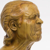 A Vexed Man by Franz Messerschmidt, Sculpture, Art, Gift, Ornament.