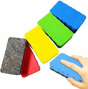 Magnetic Whiteboard Drywipe Eraser Duster Rubber Marker Cleaner - Free Delivery