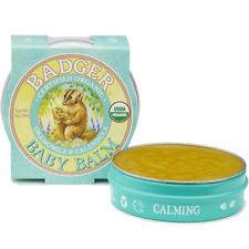 Badger Bébé Baume 21g Organique Apaisant & Protection pour Votre Baby's Doux