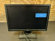 """ACER V193W BLACK 19"""" WIDESCREEN Monitor w/power cord & VGA cable"""
