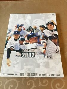 The 100Th Season Of Yankee Baseball NY Yankees Book 2002 Celebrating  MLB