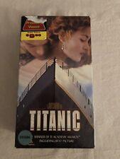 Titanic VHS 2 Tape Pack