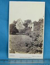 1870s CDV Carte De Visite Photo Dryburgh Abbey Scotland Lennie Edinburgh