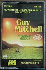 GUY MITCHELL 20 GOLDEN GREATS     CASSETTE TAPE     (RETRO)    JB 070-C     (15)
