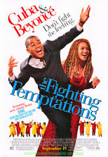 THE FIGHTING TEMPTATIONS MOVIE POSTER Original DS 27x40 CUBA GOODING JR. BEYONCE