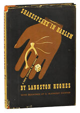 Shakespeare in Harlem ~ LANGSTON HUGHES ~ First Edition ~ 1st Printing ~ DJ 1942