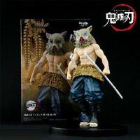 """Demon Slayer Kimetsu no Yaiba Inosuke Hashibira 5.5"""" Action PVC Figure Toys BULK"""
