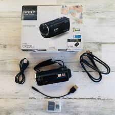 Sony Handycam HDR-CX220 Camcorder BLACK 8.9MP FIFA World Cup Brasil Pre-Owned