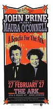 John Prine Handbill Maura O'Connell Ark Benefit Ann Arbor Mi 2000 Mark Arminski