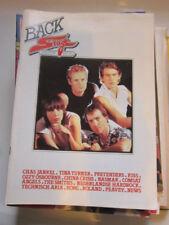 Back Stage 2/84 Kiss Smiths Pretenders Ozzy Comsat Angels Dutch magazine