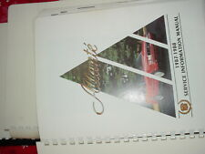 Allante Service Manuals