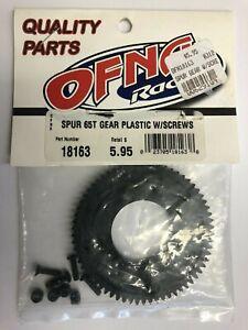 OFNA Spur Gear Plastic 65T With Screws #18163