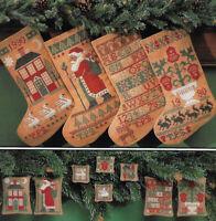 Prairie Schooler - STOCKINGS AND MORE - Xmas Stockings & Ornaments, c1990, OOP