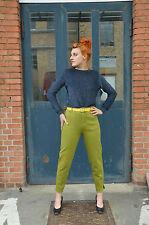 Stretchhose Jeans Hose Stretch high waist grün 90s True VINTAGE 90´s Baumwolle