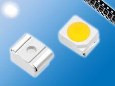 125x SMD LED   Kalt Weiß   6000K   PLCC-2   3528   Gegurtet