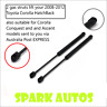 Qty 2 NEW Gas Struts suit Toyota Corolla HATCH BACK 2008 to 2012 Conquest Ascent