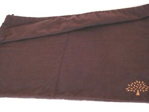 """Mulberry Brown Burgundy Drawstring Dustbag Dust Bag Extra Large - 24"""" x 22"""""""