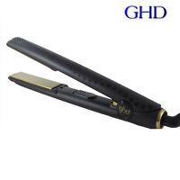 GENUINE WOMEN LADIES GHD HAIR STRAIGHTENERS SET 5.0 Black AND GOLD V STYLER !!!!