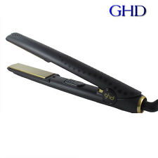 GENUINE WOMEN LADIES GHD HAIR STRAIGHTENERS SET 5.0 Black AND GOLD V STYLER !!!!