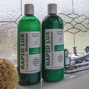Rapid Lux Shampoo and Conditioner  Now You Can Grow Long Thick Health Hair Fast