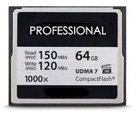 64GB CF 1000x Compact Flash Memory Card for Canon EOS 40D 50D 5D MARK II 7D