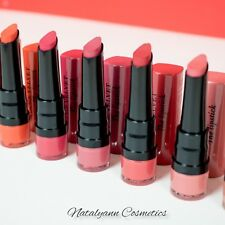 Bourjois Rouge Velvet The Lipstick Long Lasting Flawless Rich Pigments Hydrating