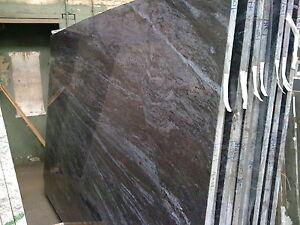 Arbeitsplatte Granit Bros Blue Abdeckung Tischplatte Naturstein blau lila Platte
